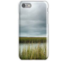 """""""Ominous Skies Over The Inlet"""" - Murrells Inlet, South Carolina iPhone Case/Skin"""