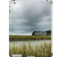 """Ominous Skies Over The Inlet"" - Murrells Inlet, South Carolina iPad Case/Skin"