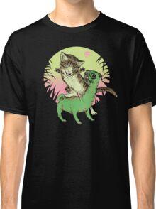 K-Rex & Pugosaurus Classic T-Shirt