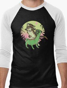 K-Rex & Pugosaurus Men's Baseball ¾ T-Shirt