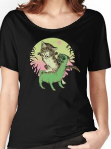 K-Rex & Pugosaurus Women's Relaxed Fit T-Shirt