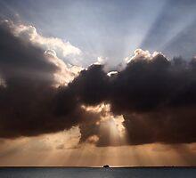 Divine Sunset  by Alex Preiss