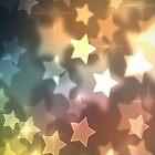 Bokeh Stars Case by Jenifer Jenkins