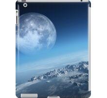 Earth icy ocean aerial view iPad Case/Skin