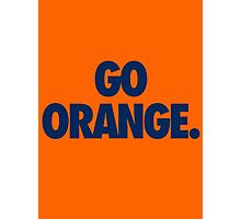 GO ORANGE. - Alternate Photographic Print