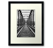 Downtown Rockford Framed Print