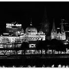 Flinders street in b/w by bluetaipan