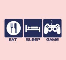 Eat Sleep Game Kids Tee