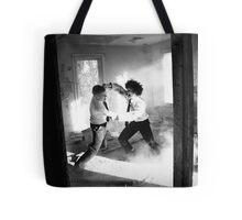 Corporate Rivalry Tote Bag