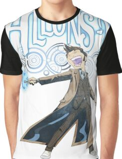 Allons-Y! - Brown Suit Graphic T-Shirt