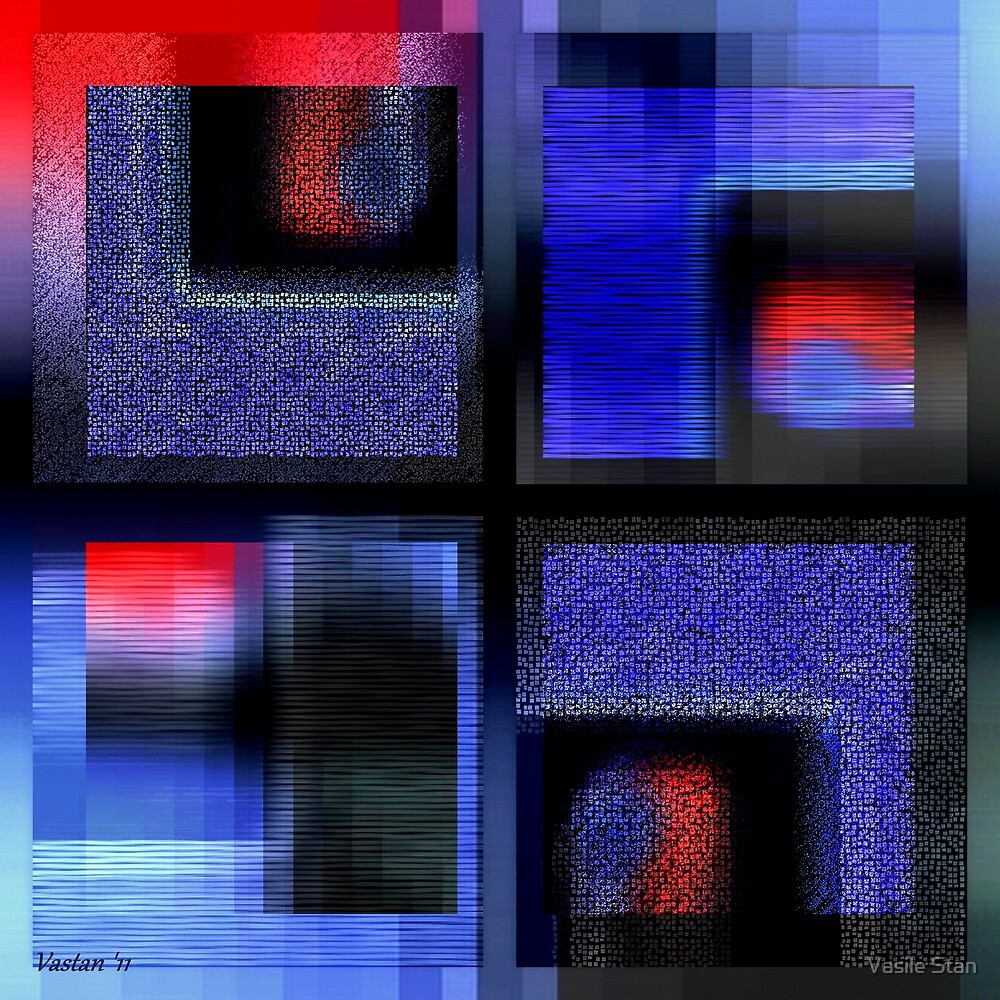 Symphony In Blue Major 2 by Vasile Stan