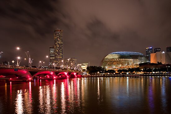 Esplanade in Singapore by Mark Lee