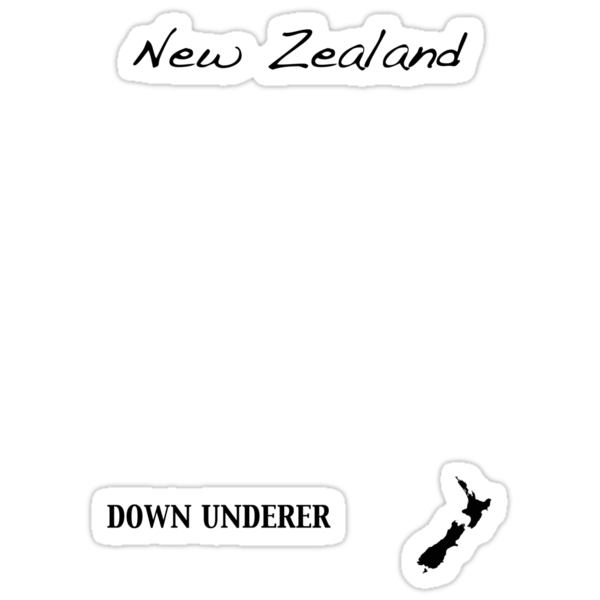 New Zealand - Down Underer by Jonathan Hughes