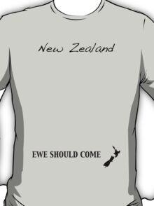 New Zealand - Ewe Should Come T-Shirt