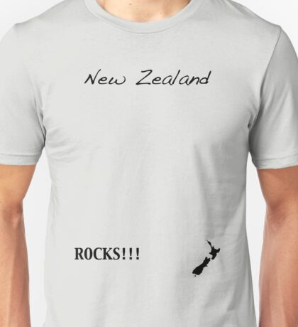 New Zealand - Rocks!!! Unisex T-Shirt