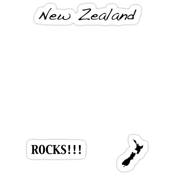 New Zealand - Rocks!!! by Jonathan Hughes