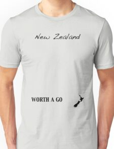 New Zealand - Worth A Go Unisex T-Shirt