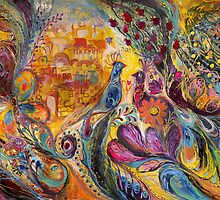 The Walls of Safed (the original can be purchased directly from www.elenakotliarker.com) by Elena Kotliarker