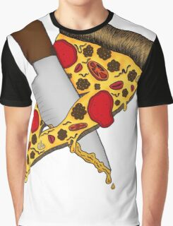 Pizza Never Dies Graphic T-Shirt