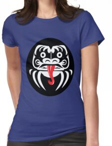 Hardcore Daruma Womens Fitted T-Shirt