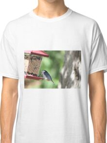 White Breasted Nut Hatch Classic T-Shirt