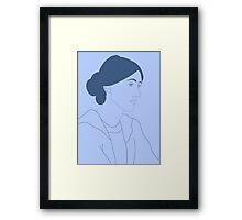 Virginia Woolf Framed Print