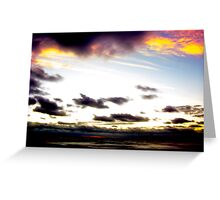 Sea of the Sun's not Set Greeting Card