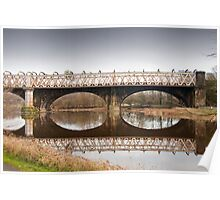 Bridge over the River Ribble Poster