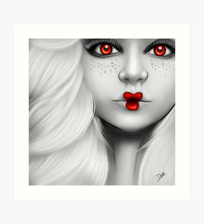 Dolly - Red Art Print