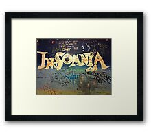 Cafe Graffiti  Framed Print