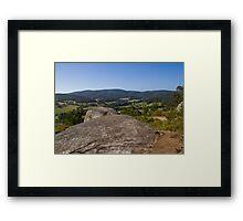 Mount Cannibal Northern Aspect Framed Print