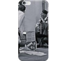 A street musician iPhone Case/Skin