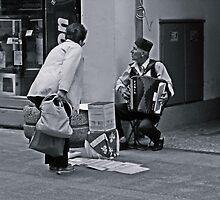 A street musician by rasim1