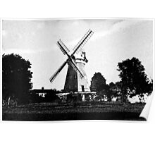 Upminster windmill Digital artwork Poster