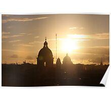 Rom Sunset Poster