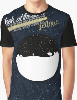 Coldplay - They Were All Yellow Graphic T-Shirt
