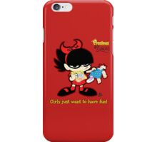 Demona - Girls just want to have fun iPhone Case/Skin