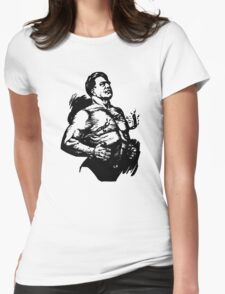 Chest Buster Womens Fitted T-Shirt