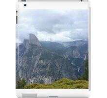 Glacier Point, View of Half Dome iPad Case/Skin