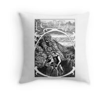 Le Tour De France Throw Pillow