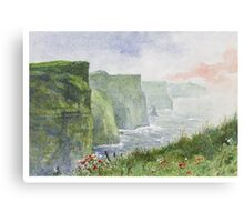 The Cliffs of Moher (Aillte an Mhothair) Canvas Print
