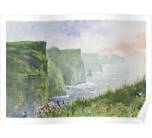 The Cliffs of Moher (Aillte an Mhothair) Poster