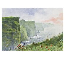 The Cliffs of Moher (Aillte an Mhothair) Photographic Print