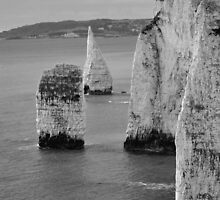 Old Harry Rocks by Amy Fulford
