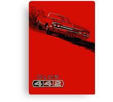 1964 Oldsmobile 442 poster reproduction Canvas Print