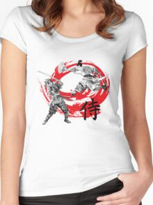 Samurai Warriors Women's Fitted Scoop T-Shirt