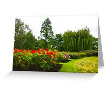 Impressions of London - English Rose Garden Greeting Card
