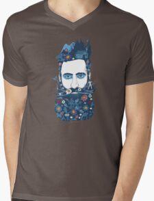 The little beard cutter Mens V-Neck T-Shirt