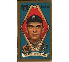 Benjamin K Edwards Collection George Moriarty Detroit Tigers baseball card portrait 001 Photographic Print