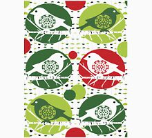 Christmas Sparrows Unisex T-Shirt